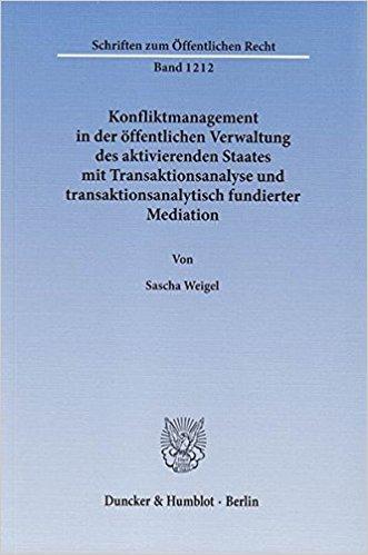Transaktionsanalyse und transaktionsanalytisch fundierte Mediation