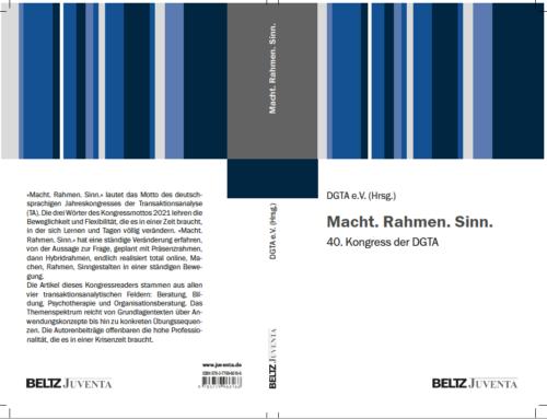 Beitrag: Die Besonderheiten der Organisationsmediation in der kulturalisierten Wirtschafts- und Arbeitswelt – in: Kongress-Reader DGTA 2021 (online-Kongress)