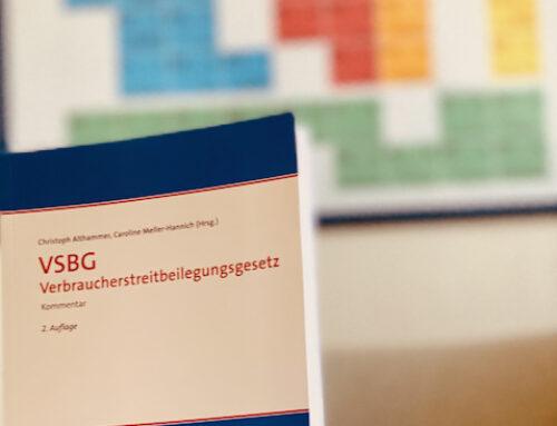 Verbraucherstreitbeilegungsgesetz. Neuauflage zur Kommentierung des § 18 VSBG – Mediation.